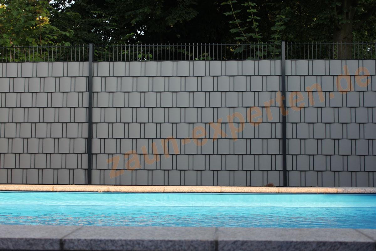 """1 Rolle á 50 Meter Sichtschutz expro """"Der Klassiker"""" Farbe Anthrazit"""