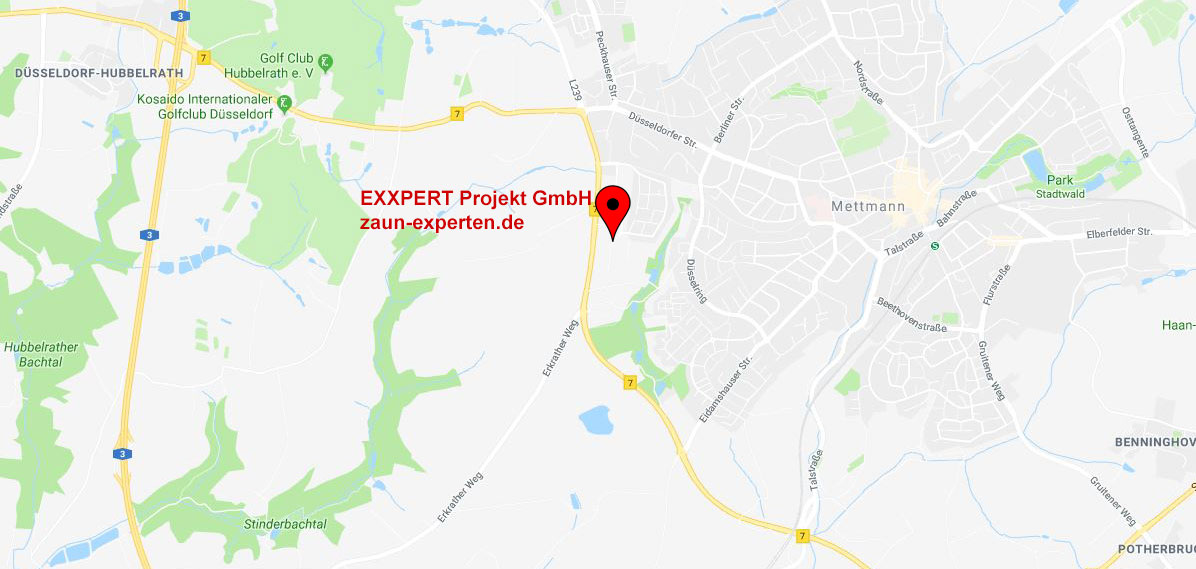 Exxpert Projekt GmbH Map