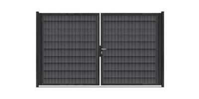 Rohrrahmentore Profi-Max 2-flg