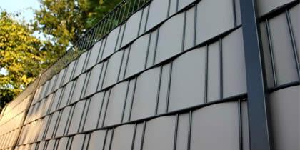 gartenzaun metall verzinkt, gartenzaun aus metall in verschiedenen variationen, farben und größen, Design ideen