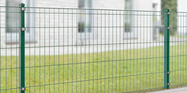 leichter Doppel- Einstabgittermatten Zaun Speedy Komplettpaket