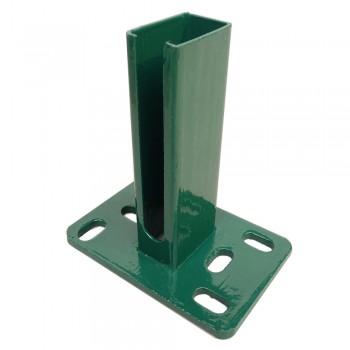 Fussplatte für Zaunpfosten 60/40 Typ H