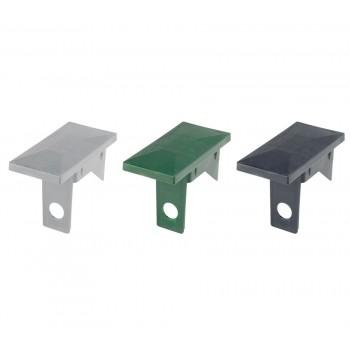 Kunststoff Abdeckkappe mit Überstand für Pfosten 60x40 expro A