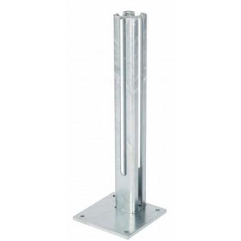Fussplatte für Torpfosten 80/80 mm