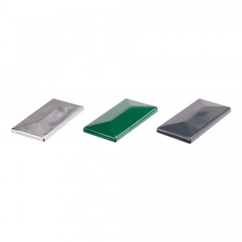 Aluminium Abdeckkappe mit Überstand für Pfosten 60x40 expro A