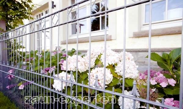Gartengestaltung mit Zaun